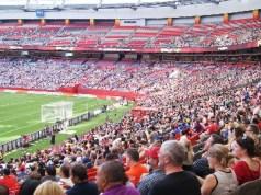 FIFA Fans at BC Place Stadium