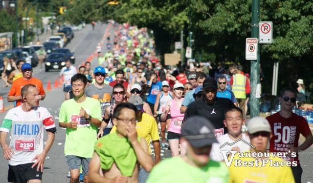 Scotia Half Marathon Near Kitsilano
