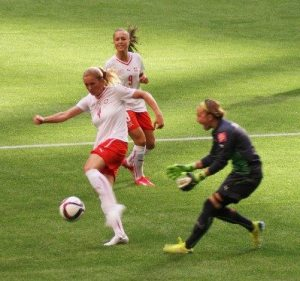 Swiss Soccer Players in Action