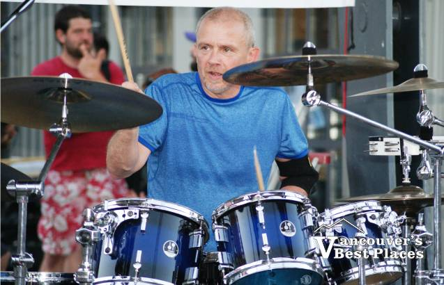 Drummer with Persons of Interest