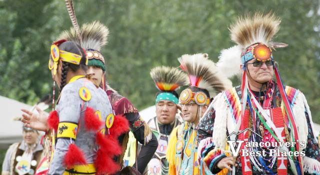 First Nations Women in Procession