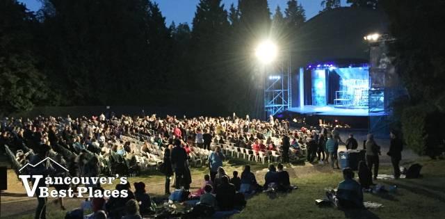 Malkin Bowl Theatre at Night