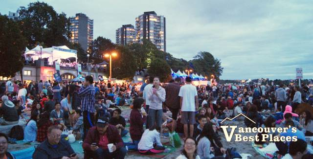 Shorefest Concert at Dusk