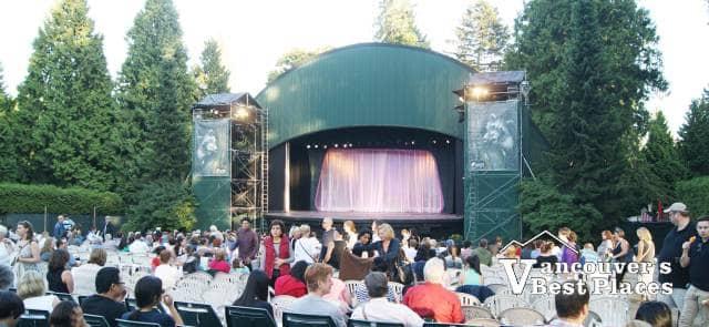 Theatre Under the Stars Stage