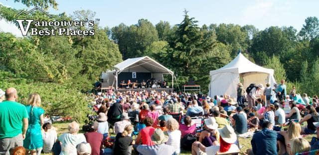 Vancouver Folk Fest Side Stage