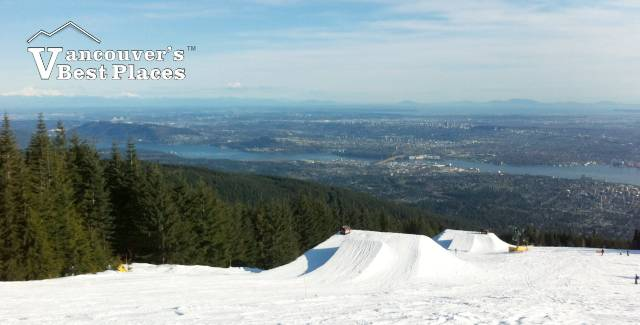 Grouse Terrain Park and Views