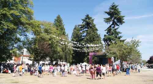 Art Vendors at Harmony Arts Festival