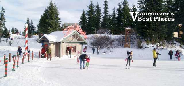 Skating Rink at Grouse Mountain