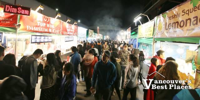 Illumination Night Market at Night