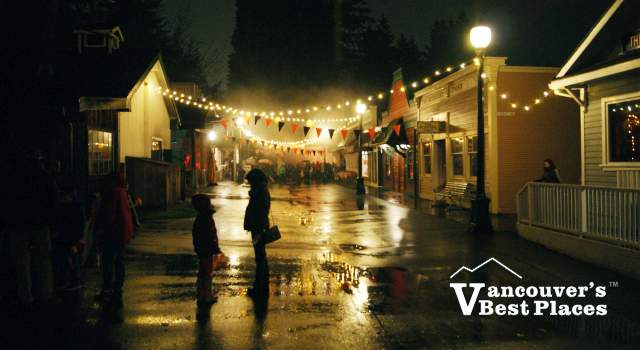Burnaby Haunted Village