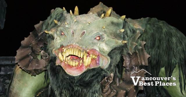 Fright Nights Green Alien Monster
