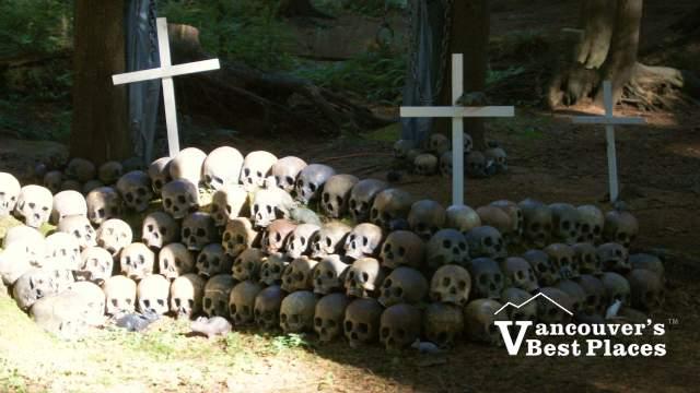 Ghost Train Skull Pile