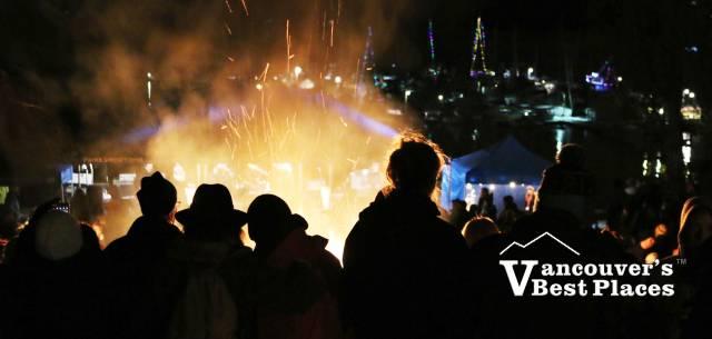 December Bonfire at Panorama Park