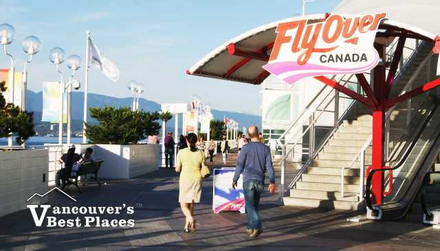 Flyover Canada at Canada Place