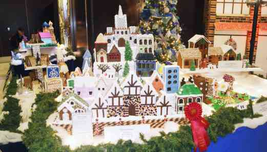 Hyatt Gingerbread Village
