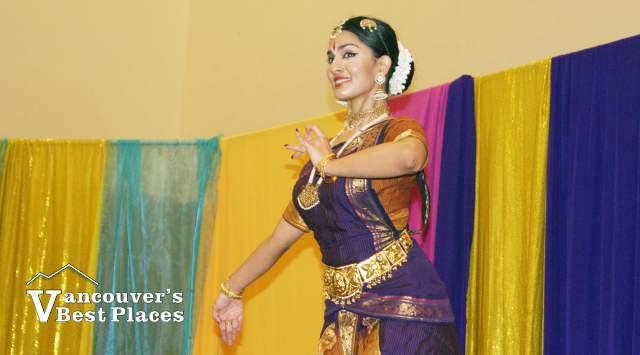 Indian Diwalli Dancer