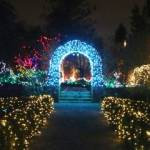 VanDusen Garden Lights and Archway
