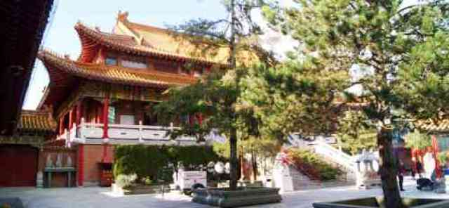 Richmond Temple Courtyard