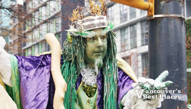 St. Patrick's Green Parade Character