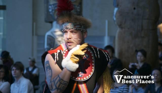 Dakhka Khwaan First Nation Dancer
