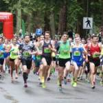 St. Patrick's Run in Stanley Park