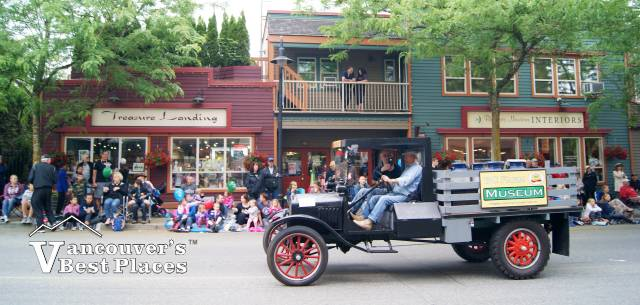 Antique Truck at Fort Langley Parade