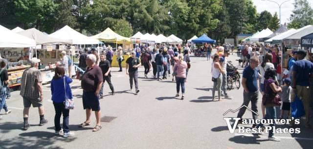 Market Day in Steveston Village