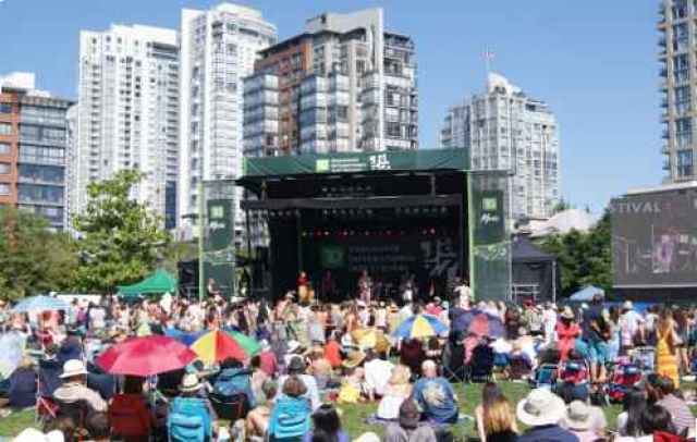 David Lam Park Jazz Festival Crowds