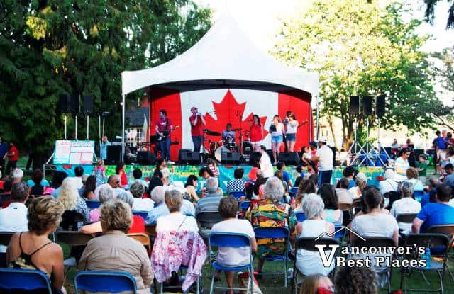 Canada Day in West Vancouver