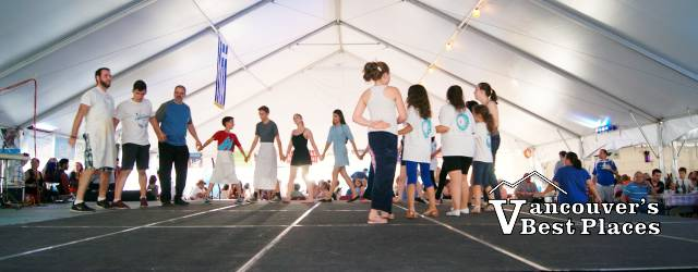 Greek Food Fest Dancing