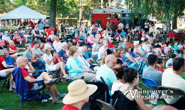 John Lawson Canada Day Crowds