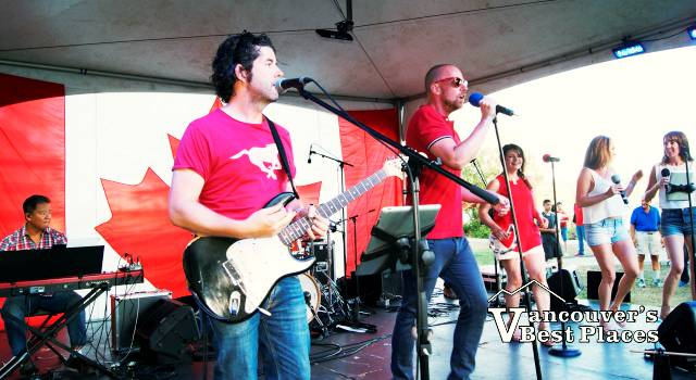 Side One Band on July 1