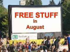 Free Stuff in August