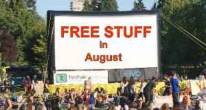 Free Stuff in August