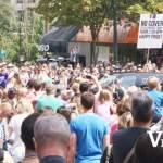 Pride Parade Crowds on Robson