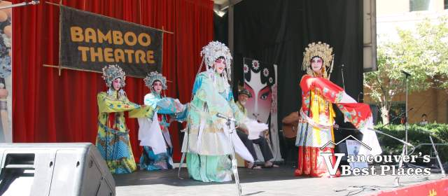Cantonese Opera at Bamboo Theatre