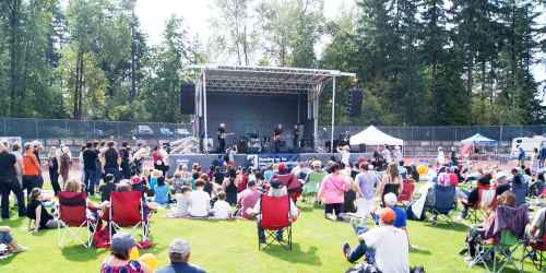 Chilliwack Concert at Swangard Stadium
