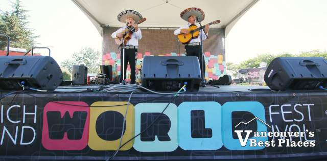 Mariachis at World Festival