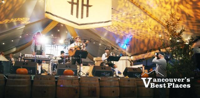 Harvest Haus Stage