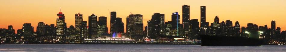 Vancouver December Sunset