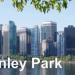 Coal Harbour from Stanley Park Banner