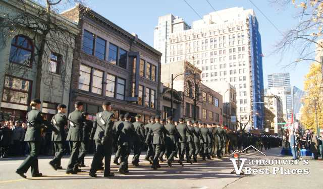 Vancouver Remembrance Day Parade