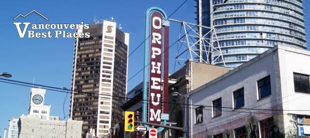 Orpheum Theatre on Granville