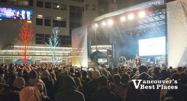 Canada Place Concert on New Year's