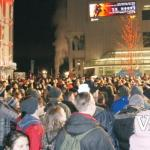 Canada Place New Year's Crowds