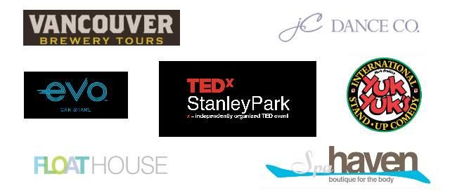 TEDxStanleyPark 2018 Bonus Gifts Sponsors
