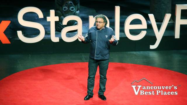 Vikram Vij at TEDxStanleyPark
