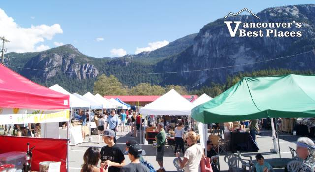 Saturday Market in Squamish