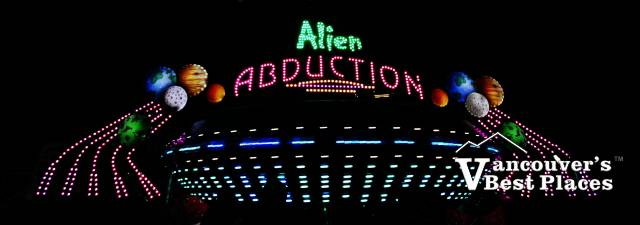 Alien Abduction at PlayDome