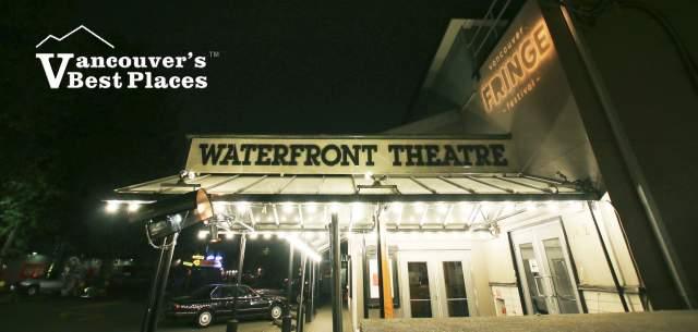 Granville Island Waterfront Theatre